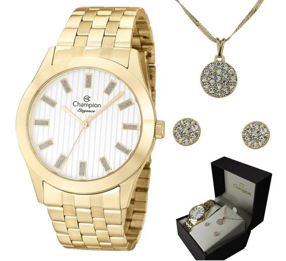 Relógio Champion Elegance Feminino Cn26706w