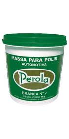 Massa Para Polir Nº 2 1kg Base Solvente Perola