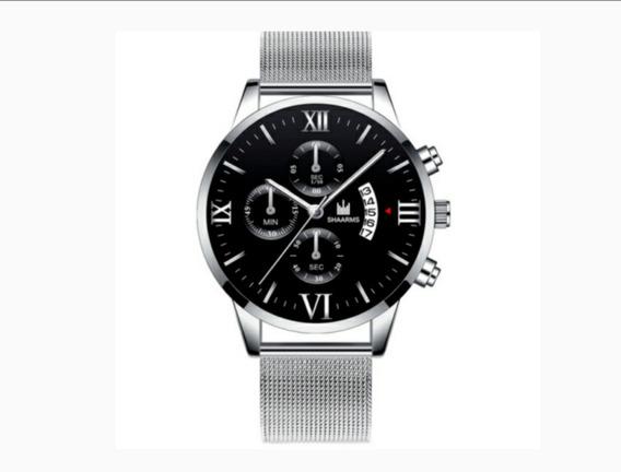 Relógio Luxo Masculino Extra Fino
