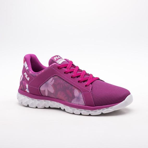 Zapatillas Fila Lightstep 2.0 W Running Gym Fucsia Envíos