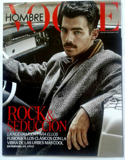 Vogue Hombre Joe Jonas Maluma Armie Hammer Chris Hemsworth