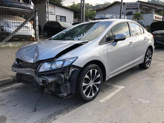 Sucata Honda Civic Lxr 2.0 2016 Venda De Peças