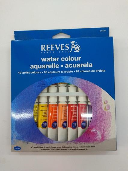 Acuarelas Reeves X18 Pomos
