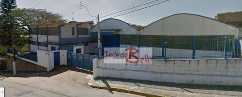 Galpão Para Alugar, 3000 M² Por R$ 30.000,00/mês - Vila São Caetano - Itatiba/sp - Ga0036