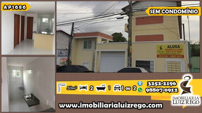 Ap1684- Apartamento Montese Sem Taxa De Condomínio, 1 Vaga