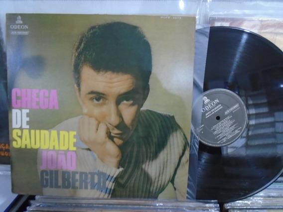 Lp - João Gilberto / Chega De Saudade / Odeon / Reed. 1990