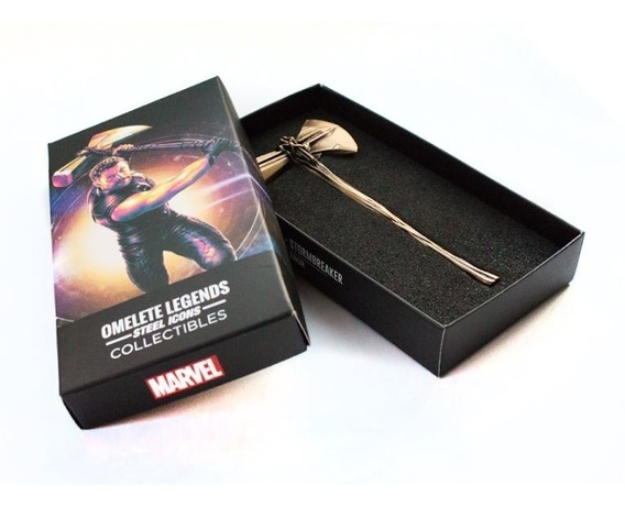 Thor Machado Stormbreaker Omelete Steel Icons Collectibles