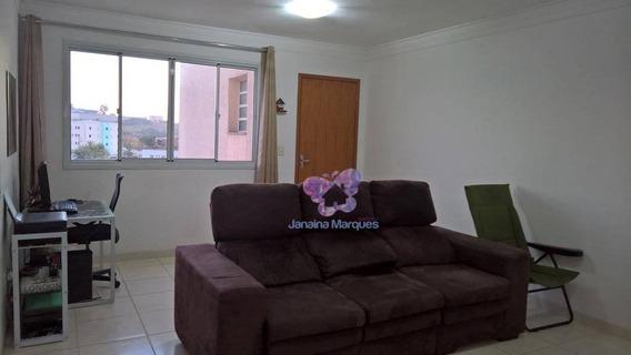 Apartamento Com 2 Dormitórios À Venda, 62 M² Por R$ 188.000 - Vila Real - Araçariguama/sp - Ap0033