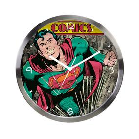 Relógio De Parede Decorativo - Dc Comics - Superman - Metróp