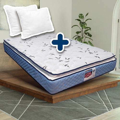 Colchón Spring Air King Size +almohadas Envío Gratis Cdmx