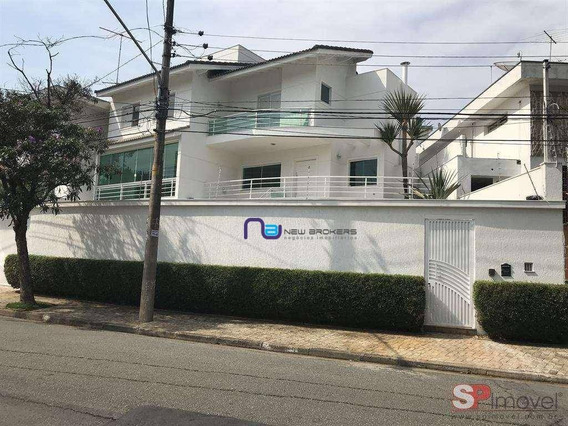 Casa Com 4 Dormitórios À Venda, 350 M² Por R$ 2.400.000 - Jardim Leonor Mendes De Barros - São Paulo/sp - Ca0495
