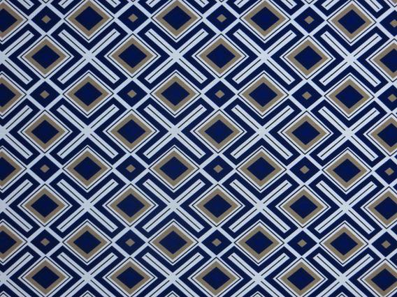 Tecido Impermeável Geométrico Decoração Sofá Parede