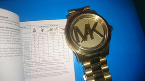 Reloj Michael Korks Original Gold Con Manual Pesado