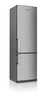 Heladera Siam Con Freezer Hsi-cc370x Inox Envio Gratis