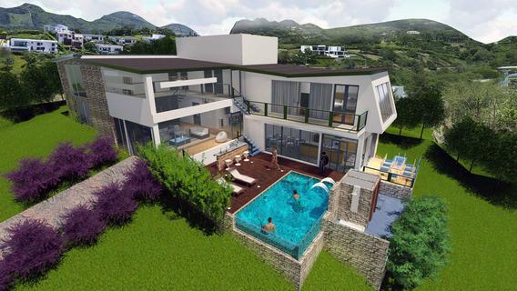 Casa Quinta Sobre Planos En Anapoima, Opcion 1