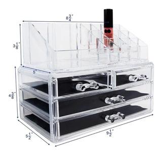 Caja Para Organizar Y Guardar Cosméticos