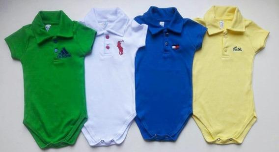 Body Gola Polo Infantil Masculino Kit 4 Peças