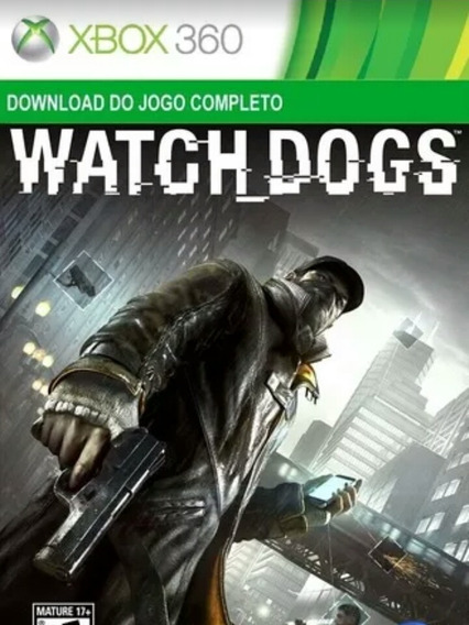 Watch_dogs Mídia Digital Xbox 360