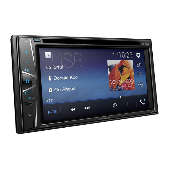 Multimídia Automotiva Pioneer Avh-g218bt, 2-din - Tela 6.2