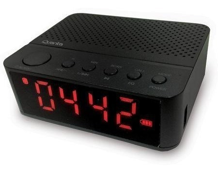 Radio Relogio Quanta Qtrbt050 - Bluetooth - Micro Sd - Usb