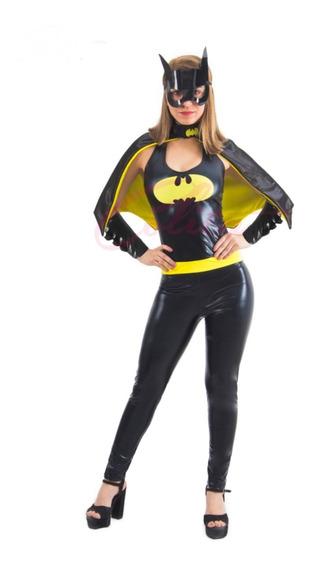 Disfraz Batichica Latex Sexy Halloween