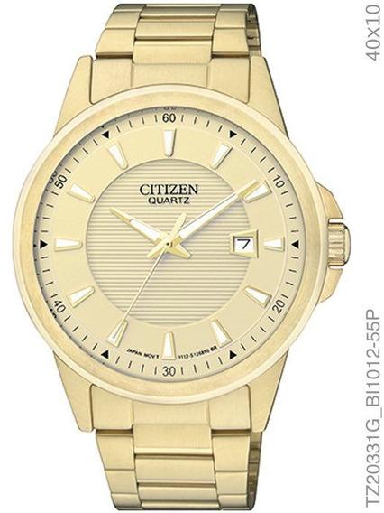 Relogio Masculino Citizen Dourado Tz20331g