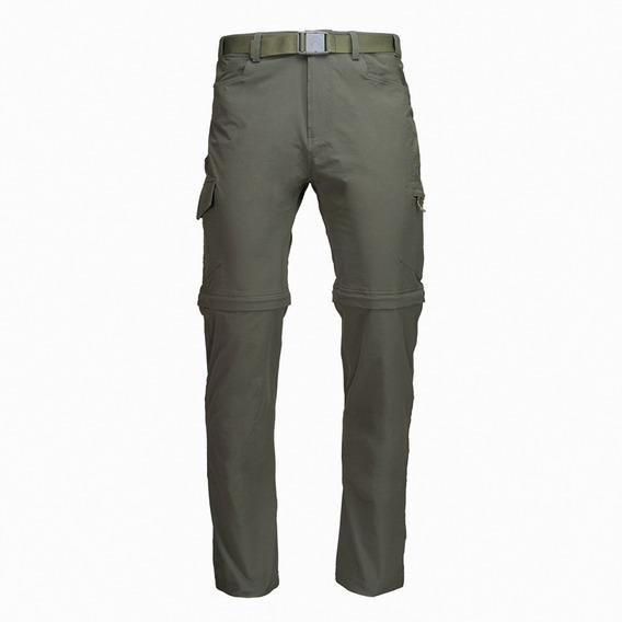 Pantalon Hombre Lippi Rampur Mix-2 Q-dry Pant Verde I19