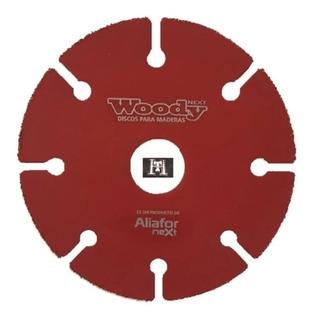 Disco Corte Madera Woody Aliafor 115 Mm Amoladora Dm-4.5 Ht