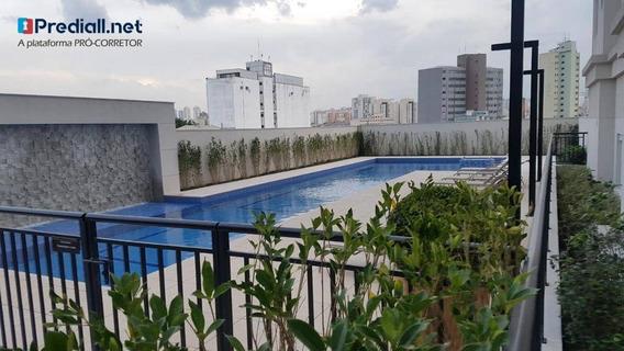 Apartamento Com 1 Dormitório Para Alugar, 45 M² Por R$ 1.600,00/mês - Brás - São Paulo/sp - Ap4031