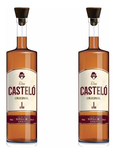 Licor Don Castelo 1 Litro (12 Unidades)