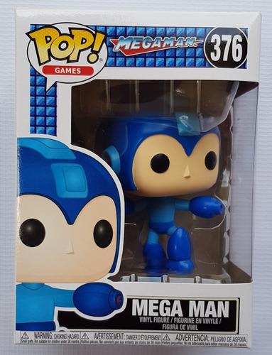 Mega Man Jumping 376 Pop! Games Funko Nuevo !!!