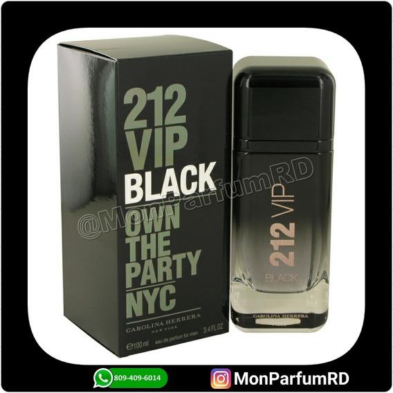 Perfume 212 Vip Black By Carolina Herrera. Entrega Inmediata