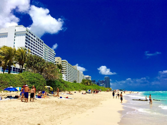 Departamento Alquiler Miami Sobre La Playa Temporal