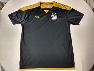 Camisa Do Santos Futebol Clube - Treino - Tam: G - Treinamento Ano: 2008 - Umbro Lc