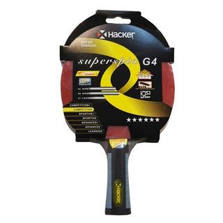 Paleta De Ping Pong Hacker Super Spin G4 6*