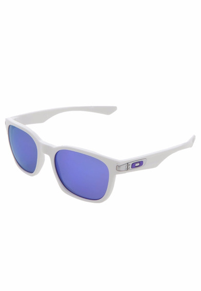 Óculos Oakley Garage Rock Polished Branco / Violet Iridium