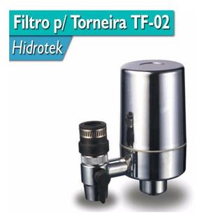 Kit Filtro Purificador Para Torneira Tf-02 + 2 Refil Extra