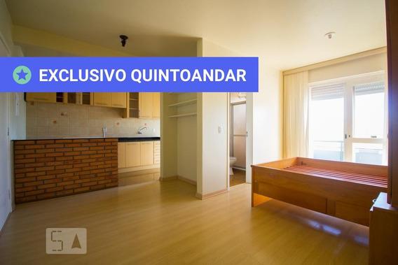 Studio No 4º Andar Com 1 Dormitório - Id: 892946797 - 246797