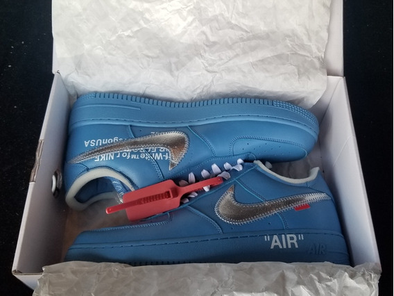 Nike Air Force One Off-white Mca University Blue