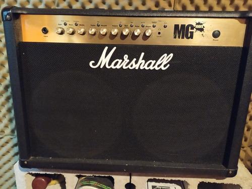 Amplificador Marshall Mg 100fx Con 2 Parlantes De 12  2x12