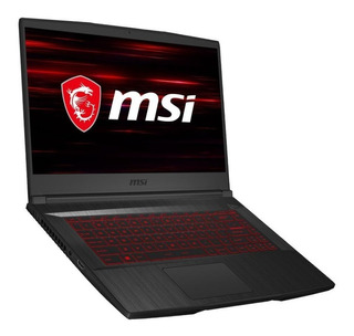 Notebook Gamer Msi Gf65 I5 9na 8gb Ssd256 Gtx1660 120hz 15