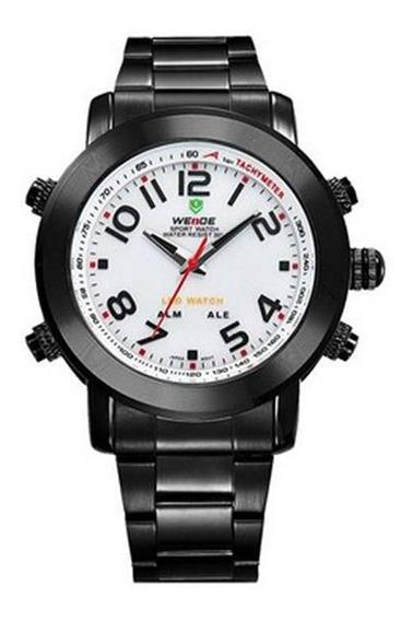 Relógio Masculino Weide Preto Fosco