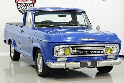 Chevrolet C-10 1971 71 - Azul - Ar - Antiga - C14 C15