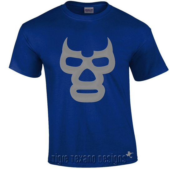 Playera Lucha Libre Demonio Cmll Aaa By Tigre Texano Designs