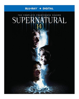 Blu-ray Supernatural Season 14 / Temporada 14
