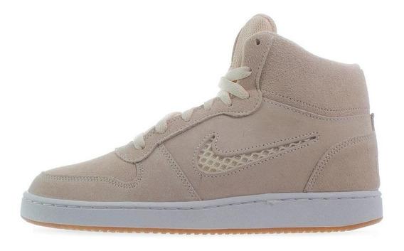 Zapatillas Nike Ebernon Mid Prem Mujer Botitas Aq1769-801