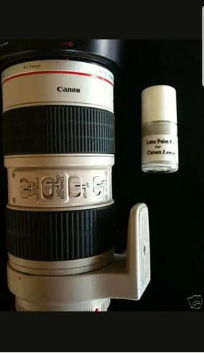 Única!! Canon: Pintura Linea L Para Teleobjetivos
