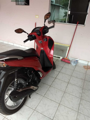 Honda Sh 150 I, Com Start/stop