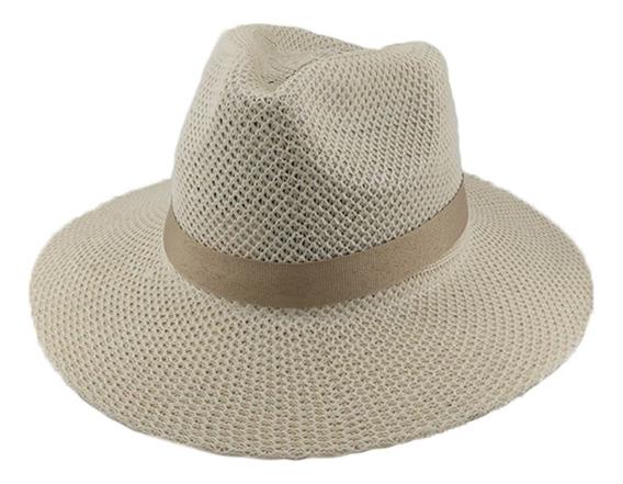Sombrero Simil Panama C/cinta Adultos Unisex Art. 29170083g