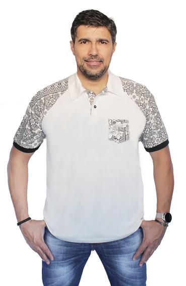 Kit 2 Camisa Polo Plus Size Camisetmasculino Fashion Moderna